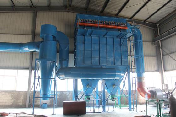 电炉除尘器制作安装电炉除尘设备方案改造