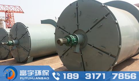 ZC24/72/144/240机械回转反吹扁袋除尘器、回转反吹袋式除尘器