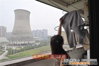 成都嘉陵电厂将对3座冷却塔实施定向爆破拆除